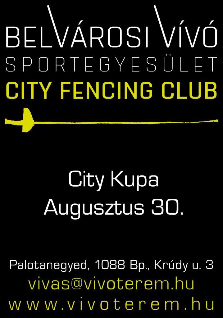 City Kupa plakát